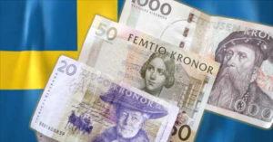 svezia riskbank corona